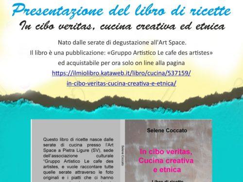"""Presentazione On Air libro di ricette: """"In cibo veritas, cucina creativa e etnica"""""""