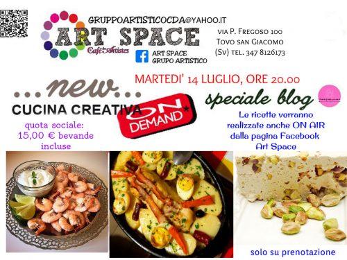 Cucina creativa On demand- speciale blog – Luglio