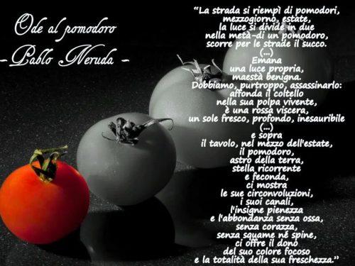 "4° Food Contest – poetico ""Come Neruda"""