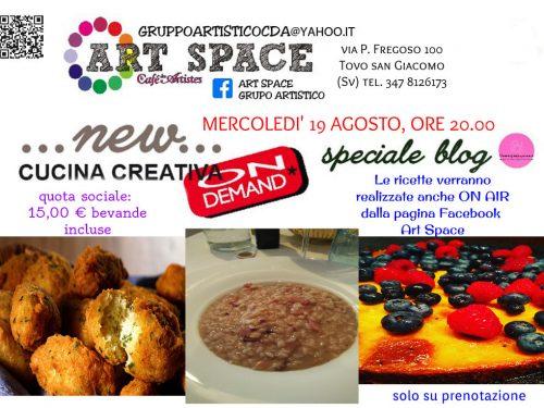 "Cucina creativa ""on demand"" – agosto"