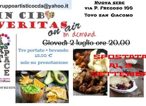 In cibo veritas – on demand Settembre