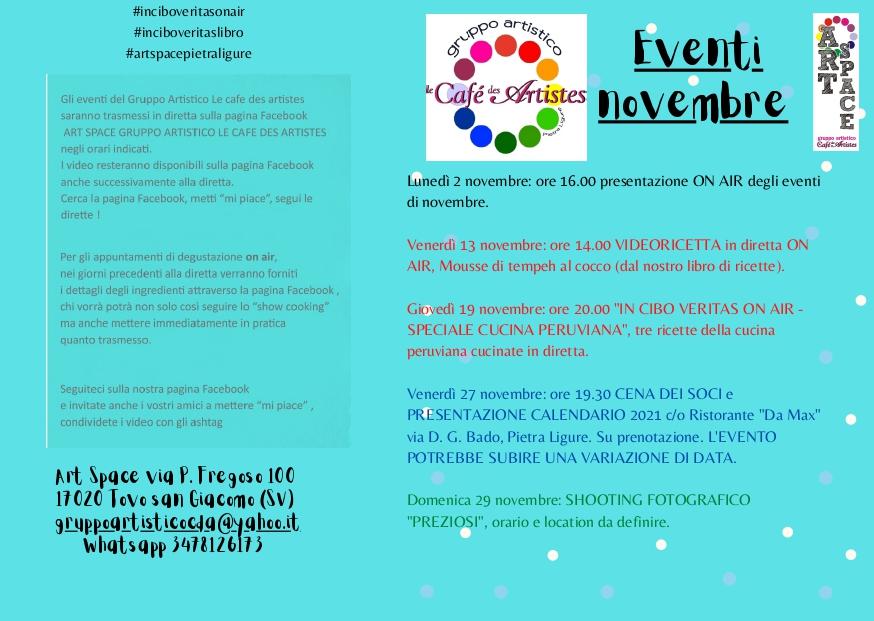 Eventi mese di novembre 020