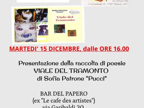 """Presentazione raccolta di poesie """"Viale del Tramonto"""""""